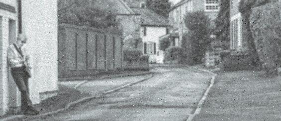grainy street scene